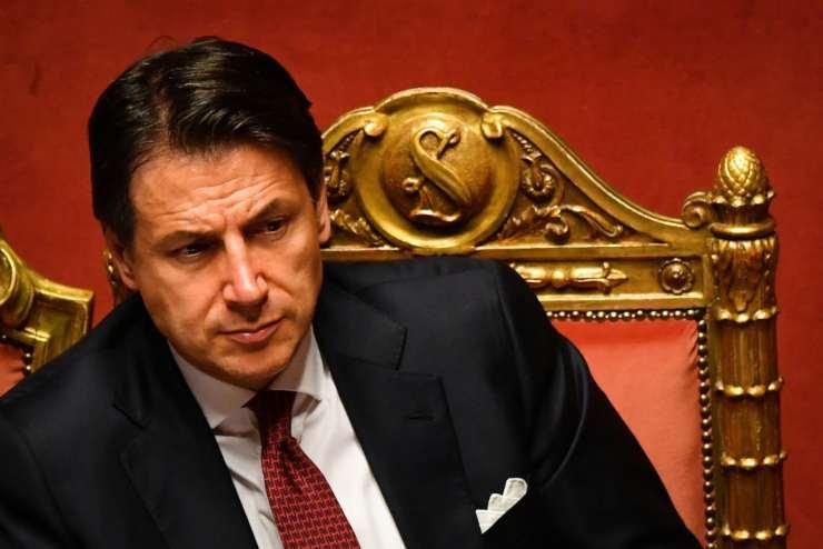 Giuseppe Conte Natale