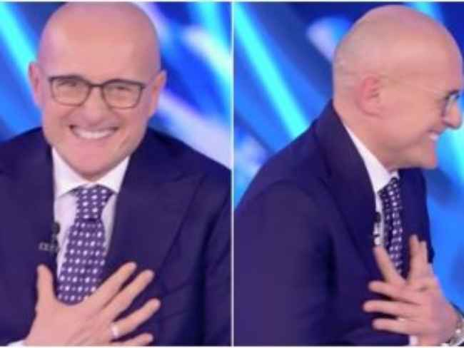 Gf Vip: Alfonso Signorini si sente male in diretta e abbandona lo studio