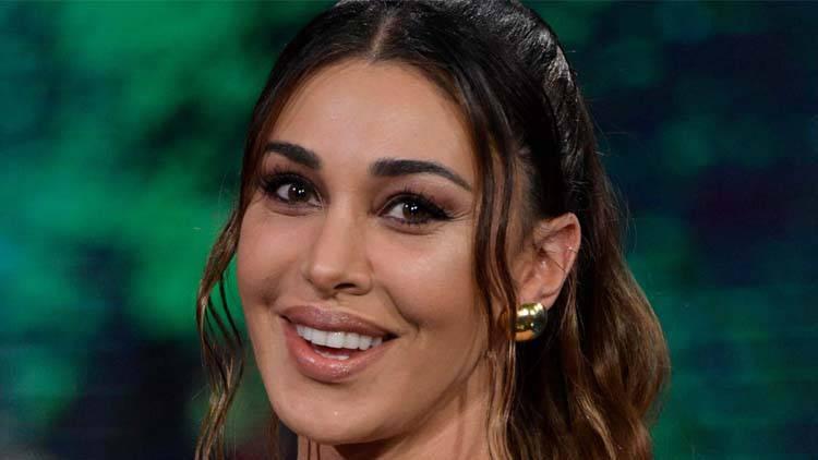 Belén Rodriguez dedica social figlio