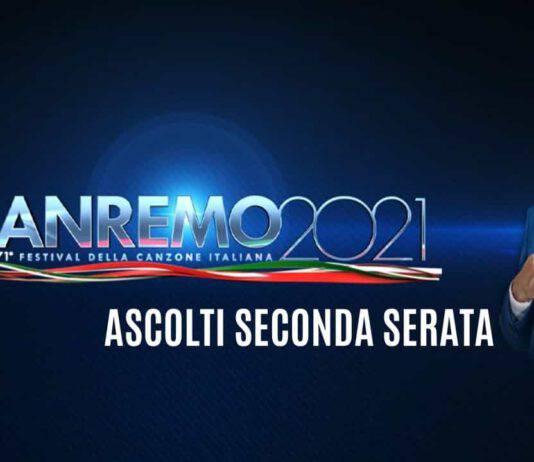 Festival Sanremo ascolti seconda serata dati
