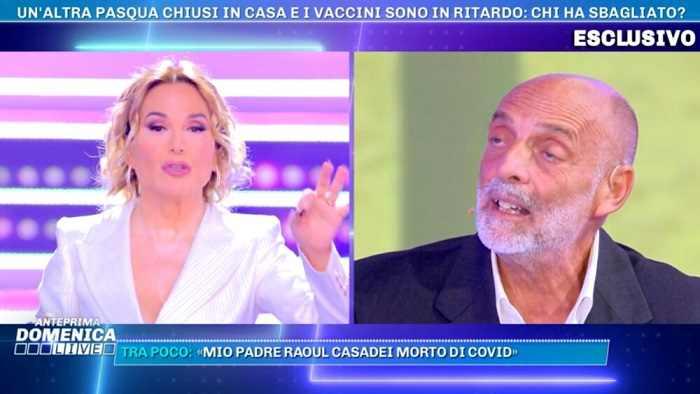 """Barbara D'Urso perde la pazienza con Paolo Brosio """"Ora ti chiudo il microfono"""""""