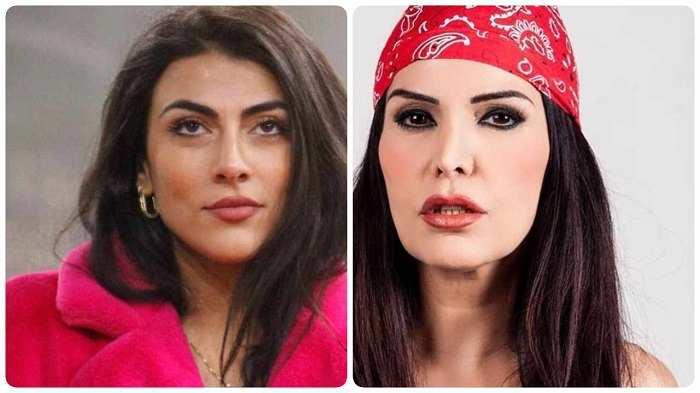 Giulia Salemi difende la madre Fariba Tehrani