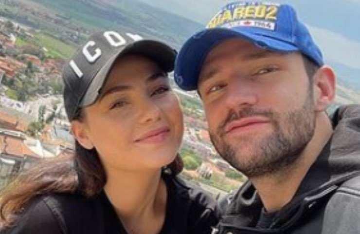 Rosalinda Cannavò lascia la casa del suo fidanzato, Andrea Zenga
