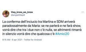 Amici Stefano De Martino Martina Miliddi