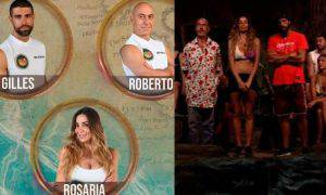 Isola Dei Famosi eliminato nomination Gilles Roberto Rosaria sondaggi