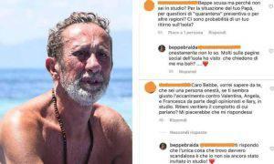 Isola Dei Famosi Beppe Braida infuriato reality