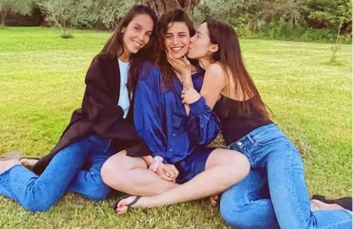 Paola Di Benedetto, Aurora Ramazzotti e Sara Daniele