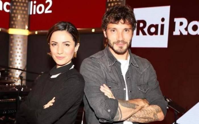 Stefano De Martino e Andrea Delogu