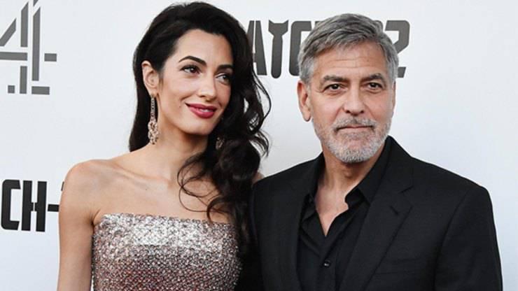 """Bellissima notizia Amal e George Clooney: """"Non vedeva l'ora di dirlo""""."""
