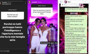 Federico Bernardeschi Veronica Ciardi Sarah Nile non invitata matrimonio sbotta