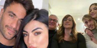 Giulia Salemi Pierpaolo Pretelli famiglia
