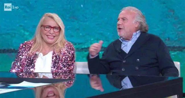"""Mara Venier e la parole a Jerry Calà: """"Che emozione...che bello""""-VIDEO"""