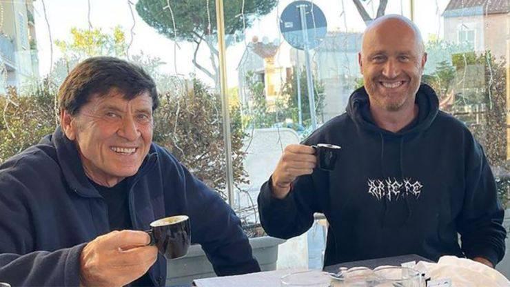 Rudy Zerbi e Gianni Morandi