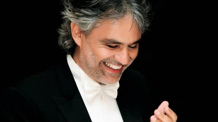 Il tenore Andrea Bocelli